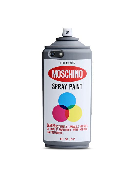 new product 066c5 3725e Moschino Spray for iphone 6/6s