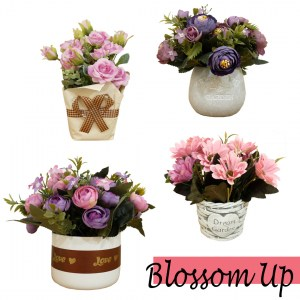 Faux Flower In Pot by Deco & Passion
