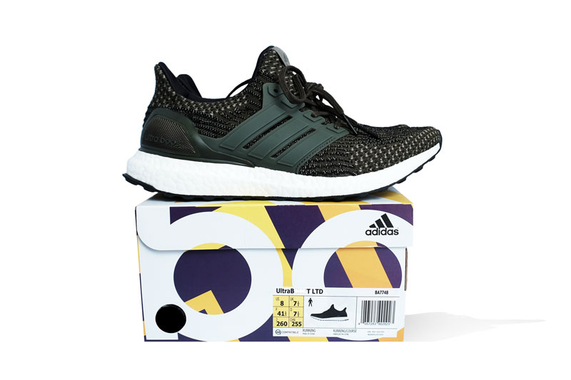 Adidas Mens Ultra Boost 3.0 BA8844 Limited Reflective Royal