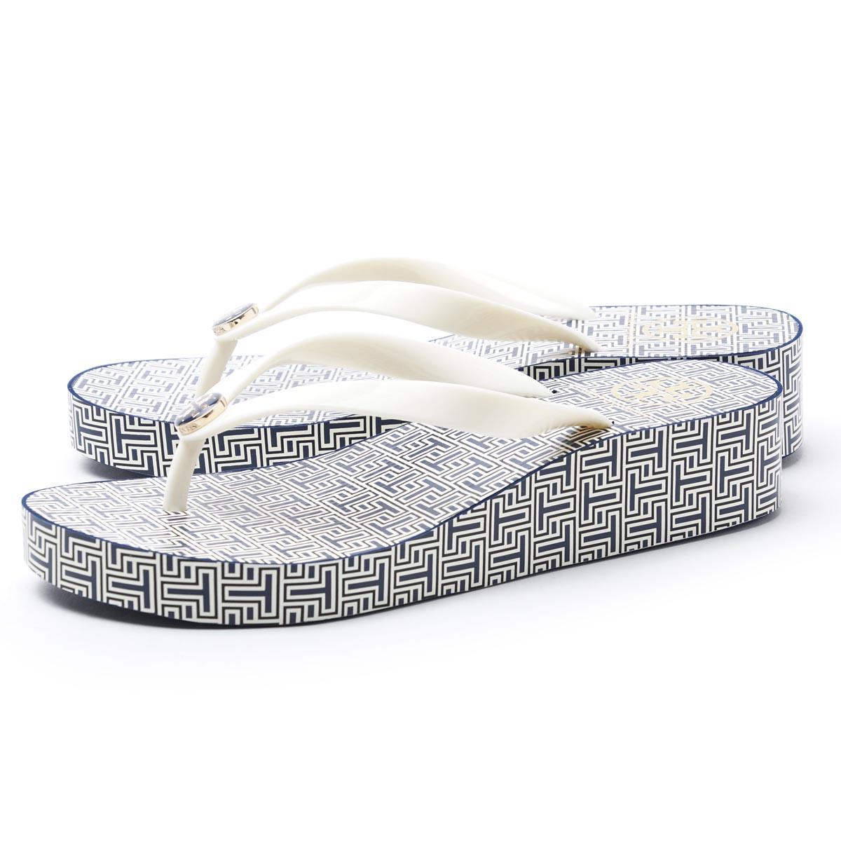 d79575947107a9 tory burch wedge flip flop spring t small new ivory. prev. next. prev