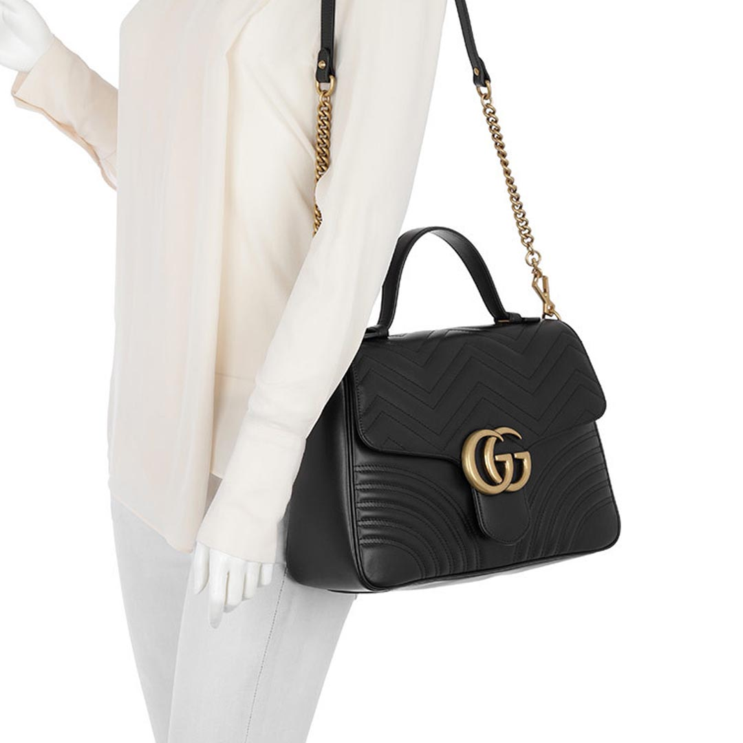 1cadde2c192 Gucci GG Marmont Top Handle Bag – ID Brand Concept Store